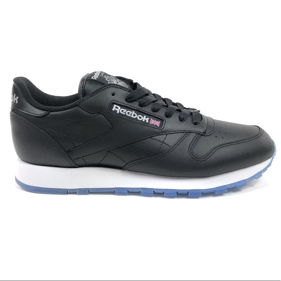 Reebok Other - Reebok Classic Leather Ice Black Low Shoes V48520